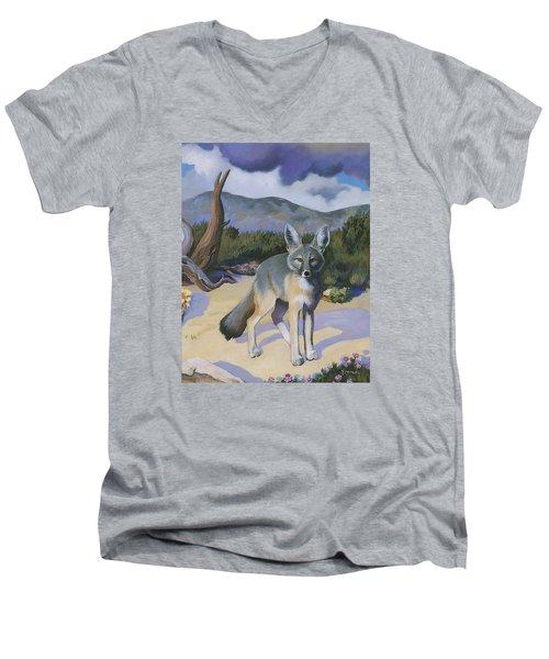 Kit Fox Men's V-Neck T-Shirt