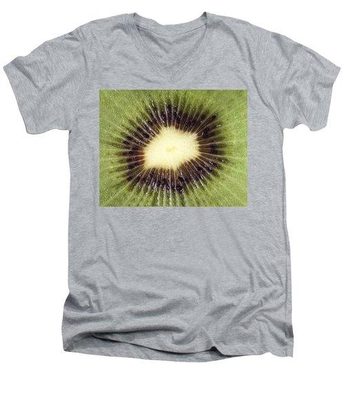 Kiwi Cut Men's V-Neck T-Shirt