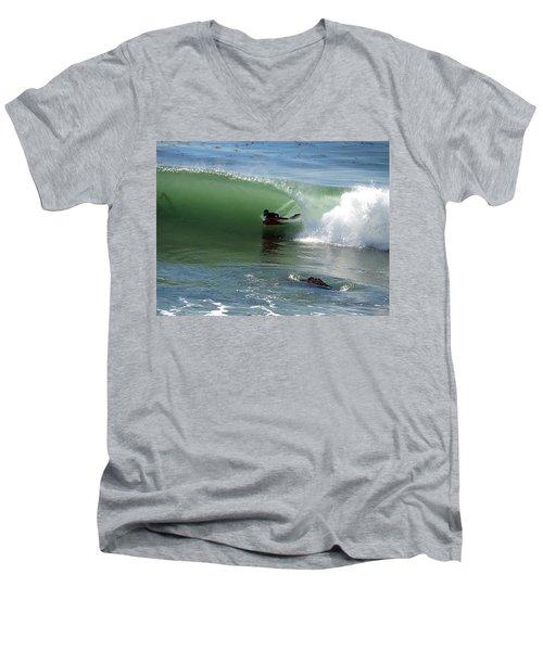 Know What Lies Beneath Men's V-Neck T-Shirt