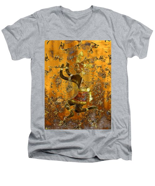 Kokopelli Men's V-Neck T-Shirt