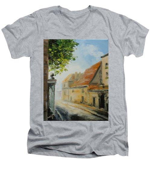 Krakow- Reformacka Street Men's V-Neck T-Shirt
