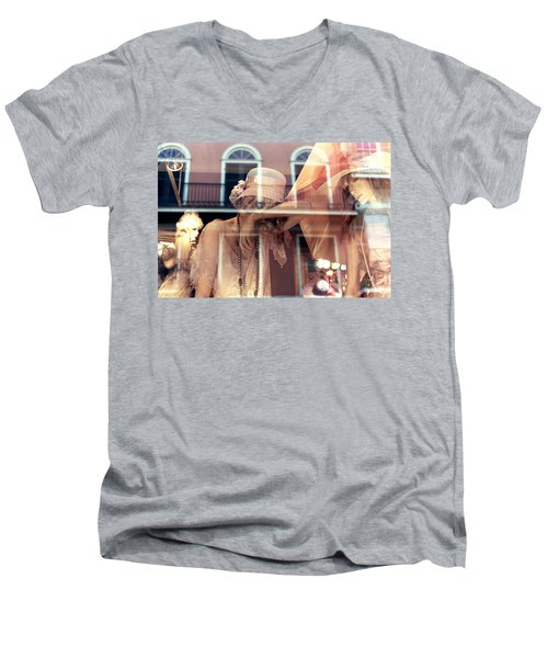 Ladies Of The French Quarter Men's V-Neck T-Shirt
