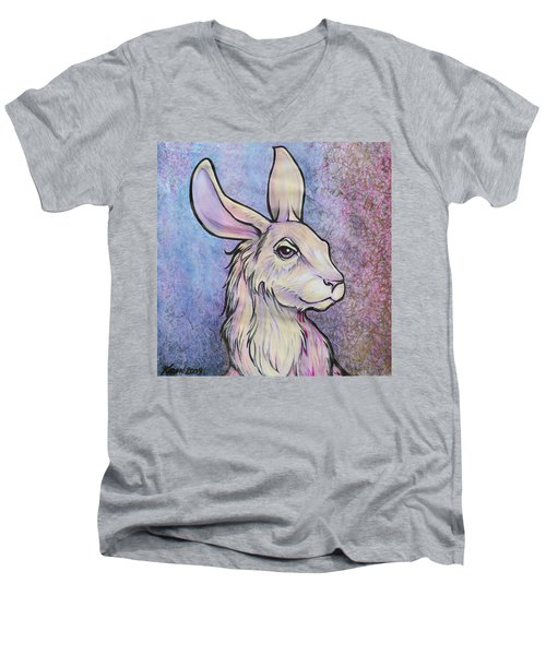 Lagos The Noble Hare Men's V-Neck T-Shirt