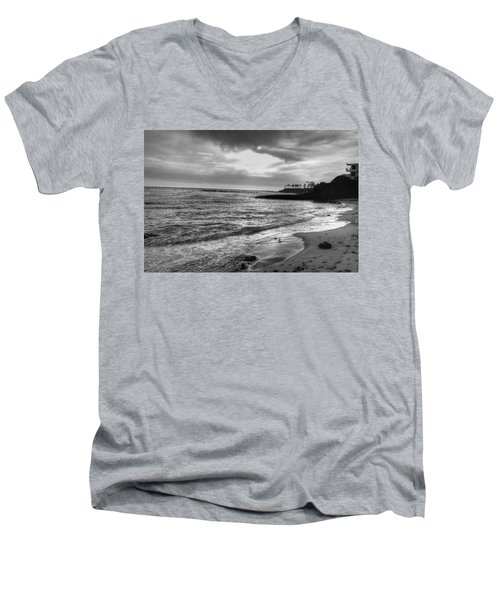 Laguna Beach Sunset Men's V-Neck T-Shirt