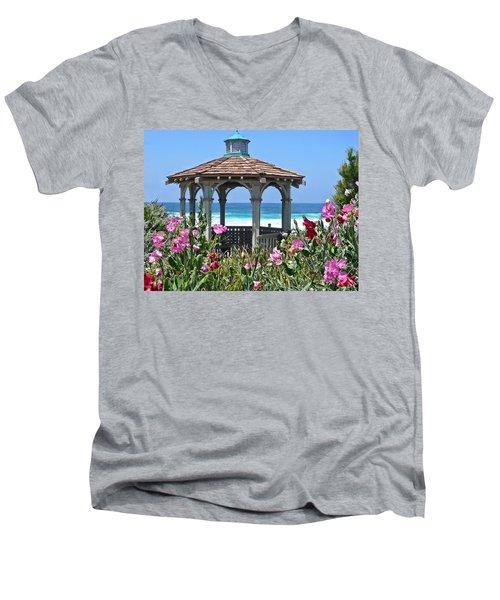 Laguna Gazebo Men's V-Neck T-Shirt