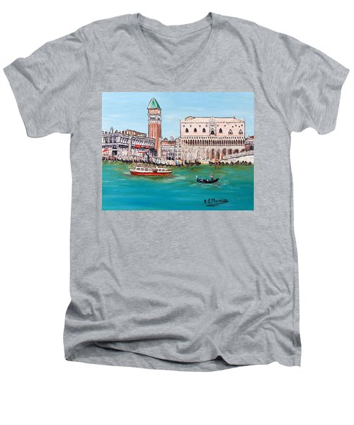 Laguna Men's V-Neck T-Shirt