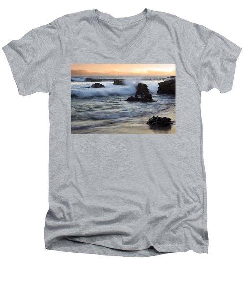 Laguna Sunset Men's V-Neck T-Shirt