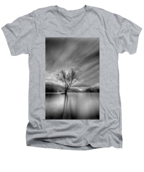 Lake Tree Mon Men's V-Neck T-Shirt
