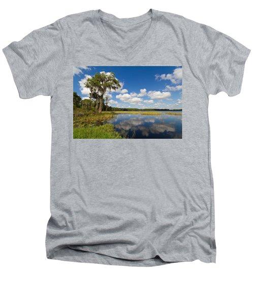 Lakeview Men's V-Neck T-Shirt
