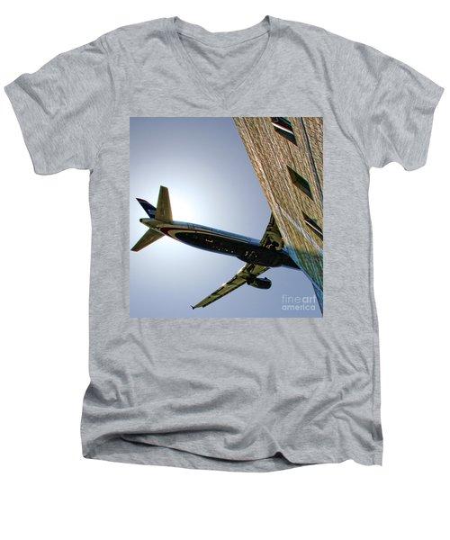 Landing By Diana Sainz Men's V-Neck T-Shirt