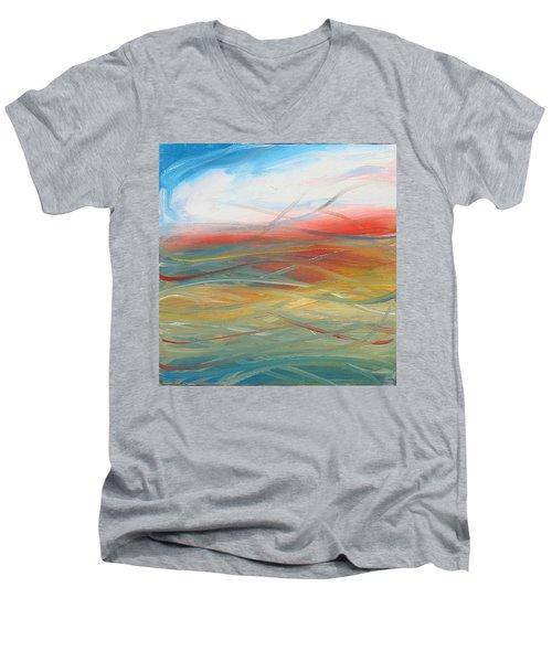 Landscape I Men's V-Neck T-Shirt by Sheridan Furrer