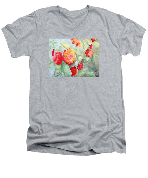 Lantana II Men's V-Neck T-Shirt