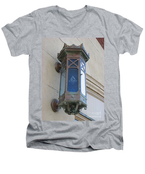 Lantern Of Secrets Men's V-Neck T-Shirt