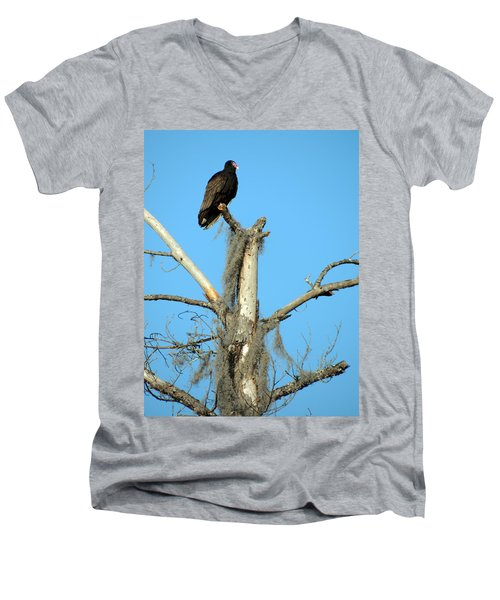 Larry Buzzard Vulture Men's V-Neck T-Shirt