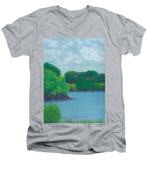 Last Day Men's V-Neck T-Shirt