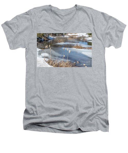 Last Days Of Winter Men's V-Neck T-Shirt