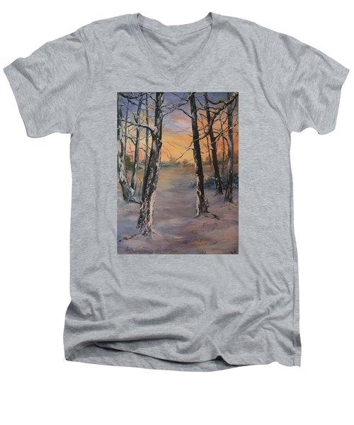 Last Of The Sun Men's V-Neck T-Shirt
