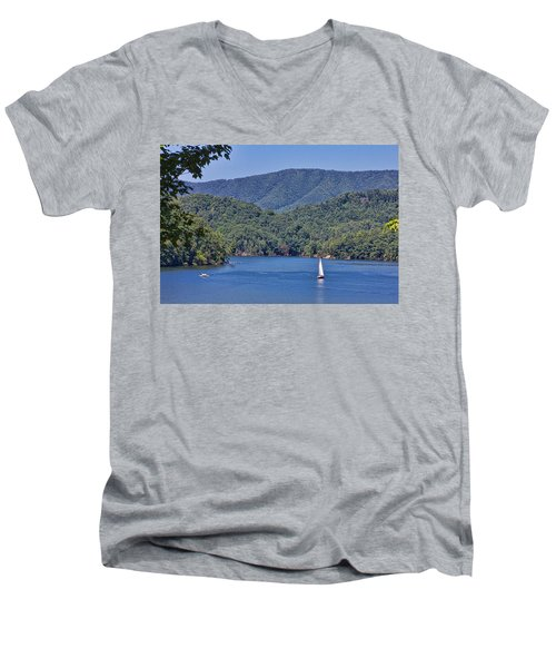 Late Summer Cruising  Men's V-Neck T-Shirt