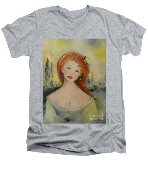 Laurel Men's V-Neck T-Shirt