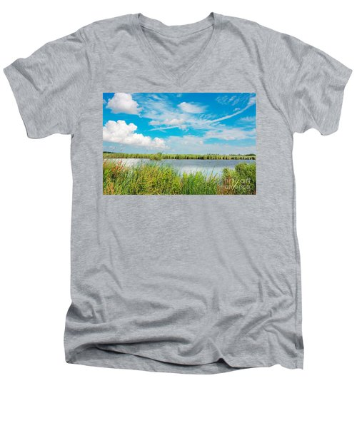 Lauwersmeer National Park. Men's V-Neck T-Shirt