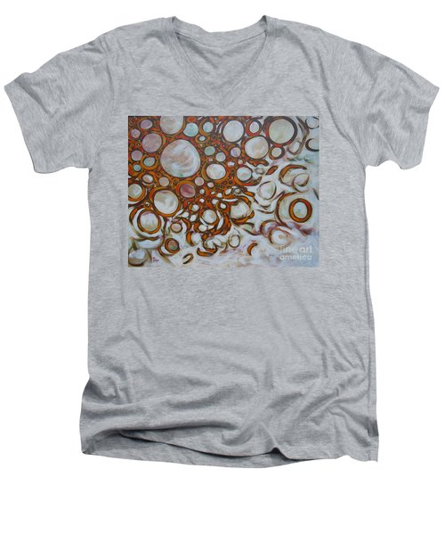Lava Lamp Studio No.2 Men's V-Neck T-Shirt