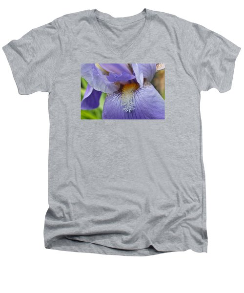Lavish Iris Men's V-Neck T-Shirt