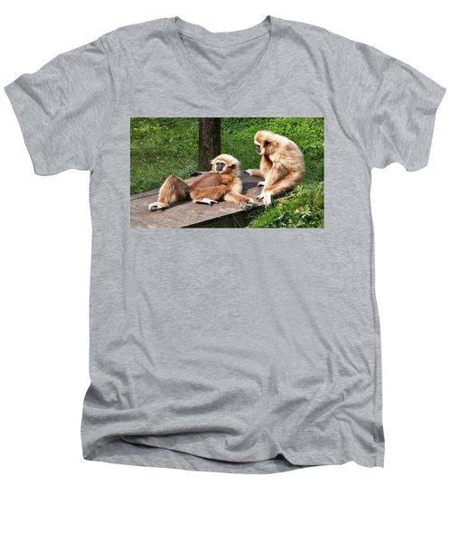 Lazy Life Men's V-Neck T-Shirt