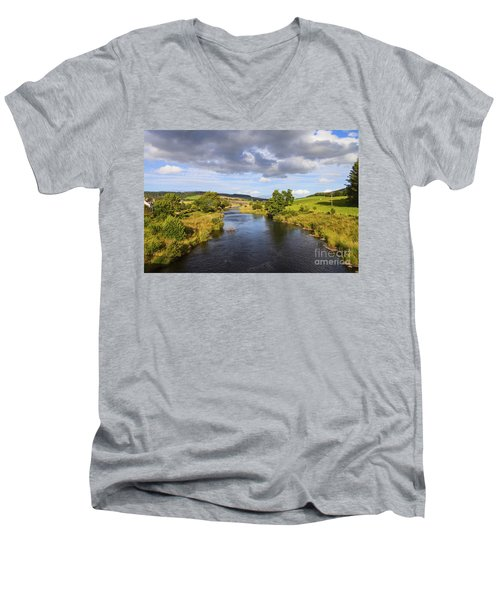 Lazy River Men's V-Neck T-Shirt