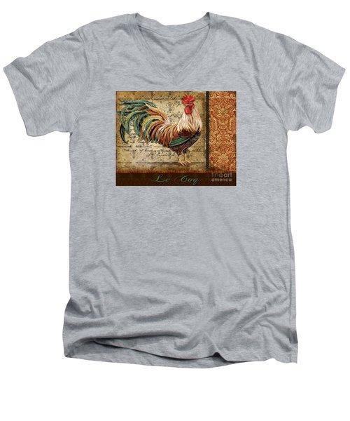 Le Coq-g Men's V-Neck T-Shirt
