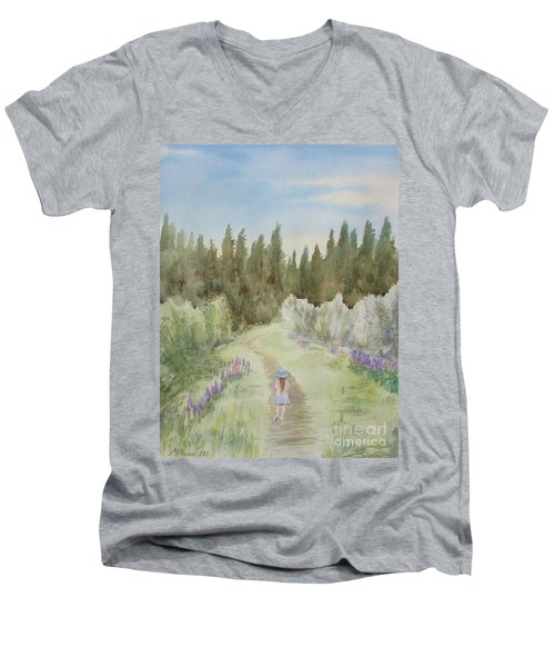 Leading The Way Men's V-Neck T-Shirt