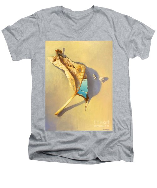 Leaf Of Life Men's V-Neck T-Shirt