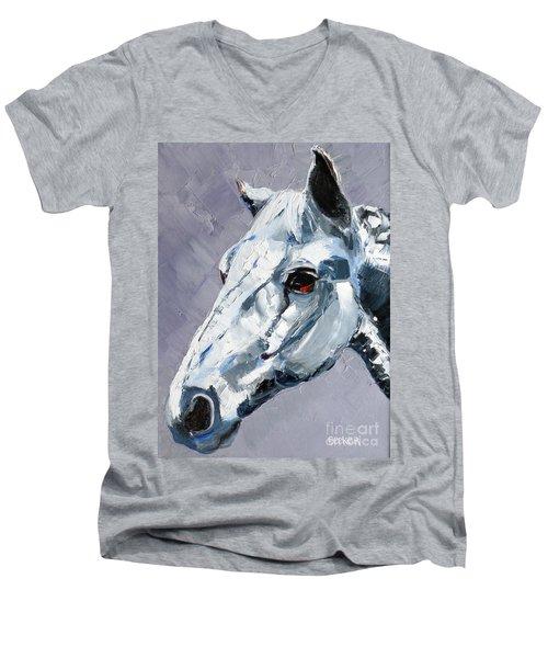 Legend - Sport Horse Men's V-Neck T-Shirt