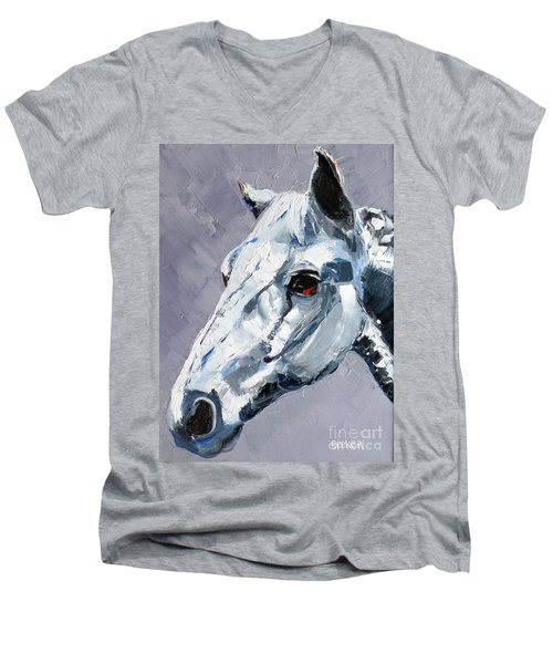 Legend - Sport Horse Men's V-Neck T-Shirt