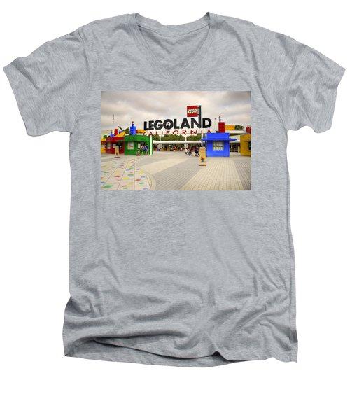 Legoland California Men's V-Neck T-Shirt