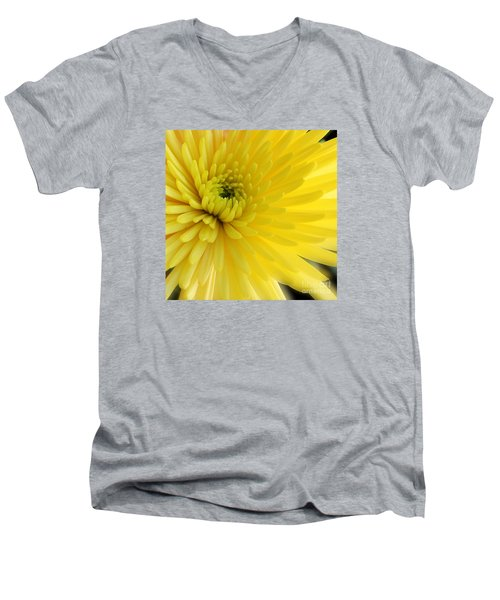 Lemon Mum Men's V-Neck T-Shirt by The Art of Alice Terrill