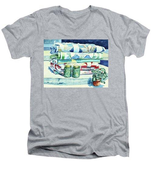 Lena's Legacy Men's V-Neck T-Shirt