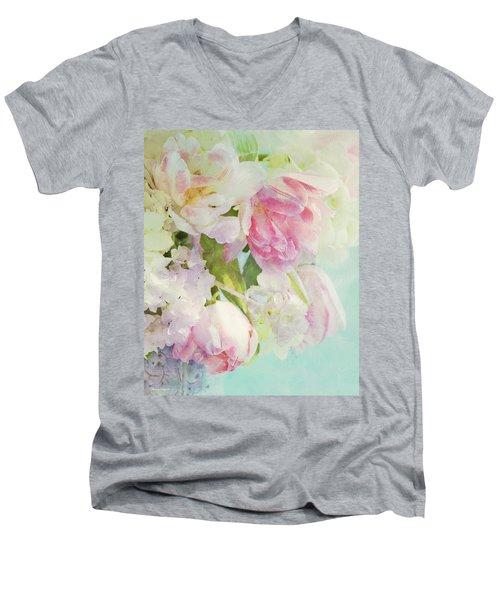 Les Fleurs Men's V-Neck T-Shirt