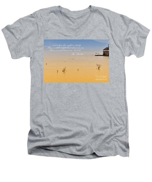 Let It Be Men's V-Neck T-Shirt