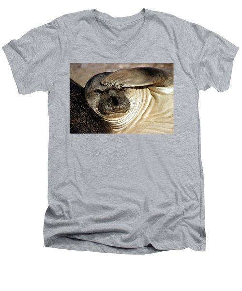 Let Me Think... Men's V-Neck T-Shirt