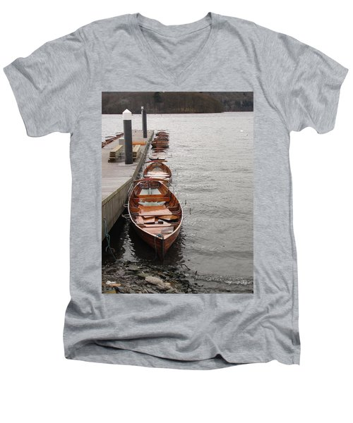 Men's V-Neck T-Shirt featuring the photograph Let's Ride by Tiffany Erdman