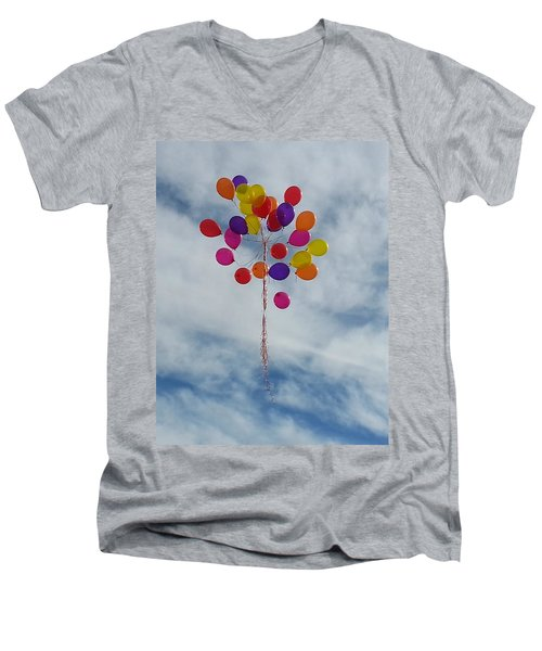 Letting Go Men's V-Neck T-Shirt