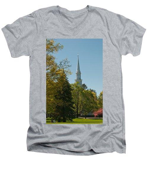 Lexington Battlefield  Men's V-Neck T-Shirt