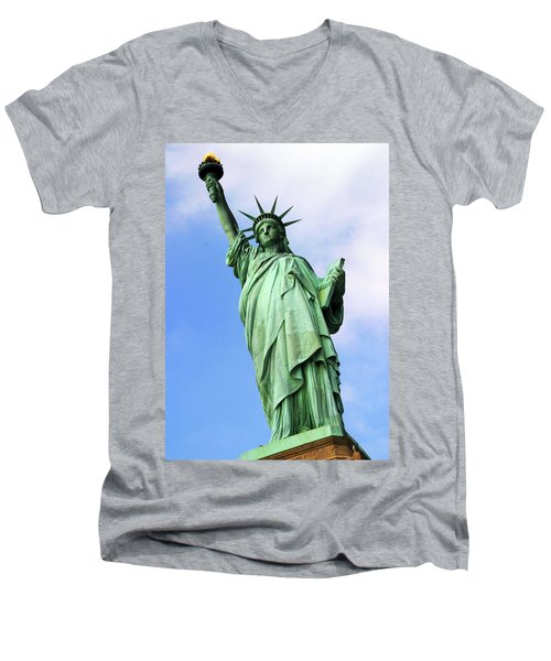 Liberty Men's V-Neck T-Shirt