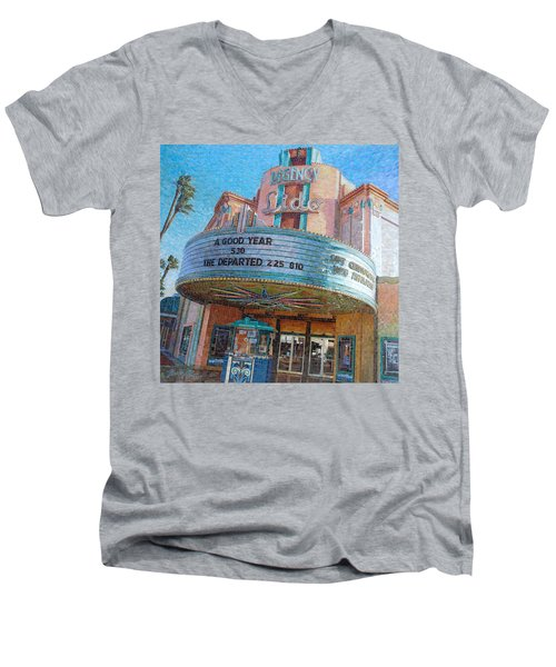 Lido Theater Men's V-Neck T-Shirt
