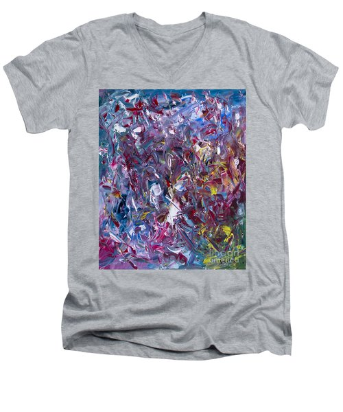 A Thousand And One Paintings Men's V-Neck T-Shirt