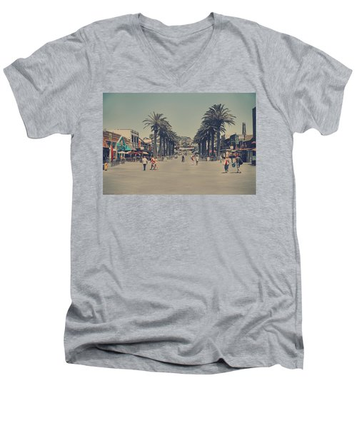 Life In A Beach Town Men's V-Neck T-Shirt