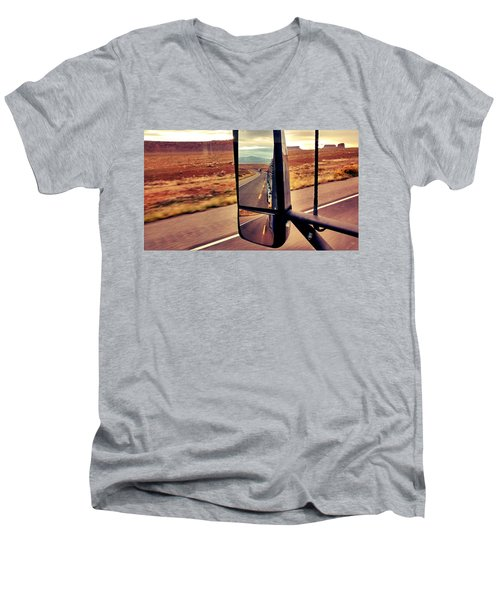 Life In My Rearview Mirror Men's V-Neck T-Shirt