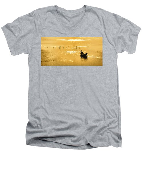 Men's V-Neck T-Shirt featuring the photograph Life Is But A Dream by John Hansen