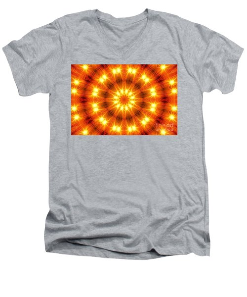 Light Meditation Men's V-Neck T-Shirt