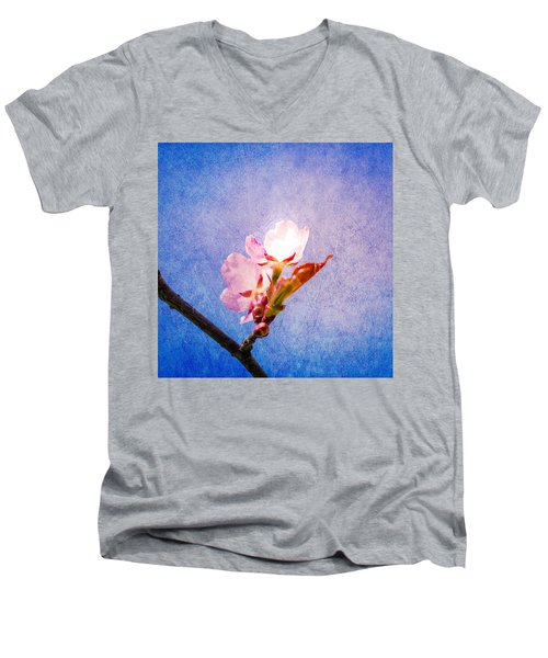 Light Of Life Men's V-Neck T-Shirt